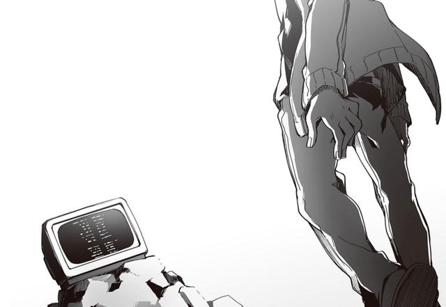 Daze 1 novel illustration