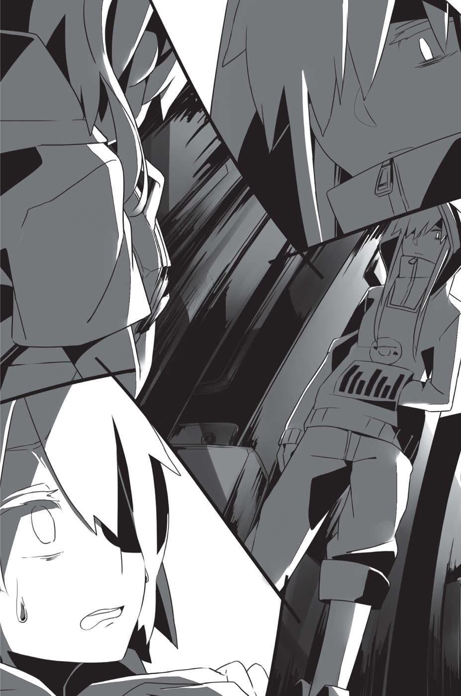 Kisaragi Attention novel chapter illustration