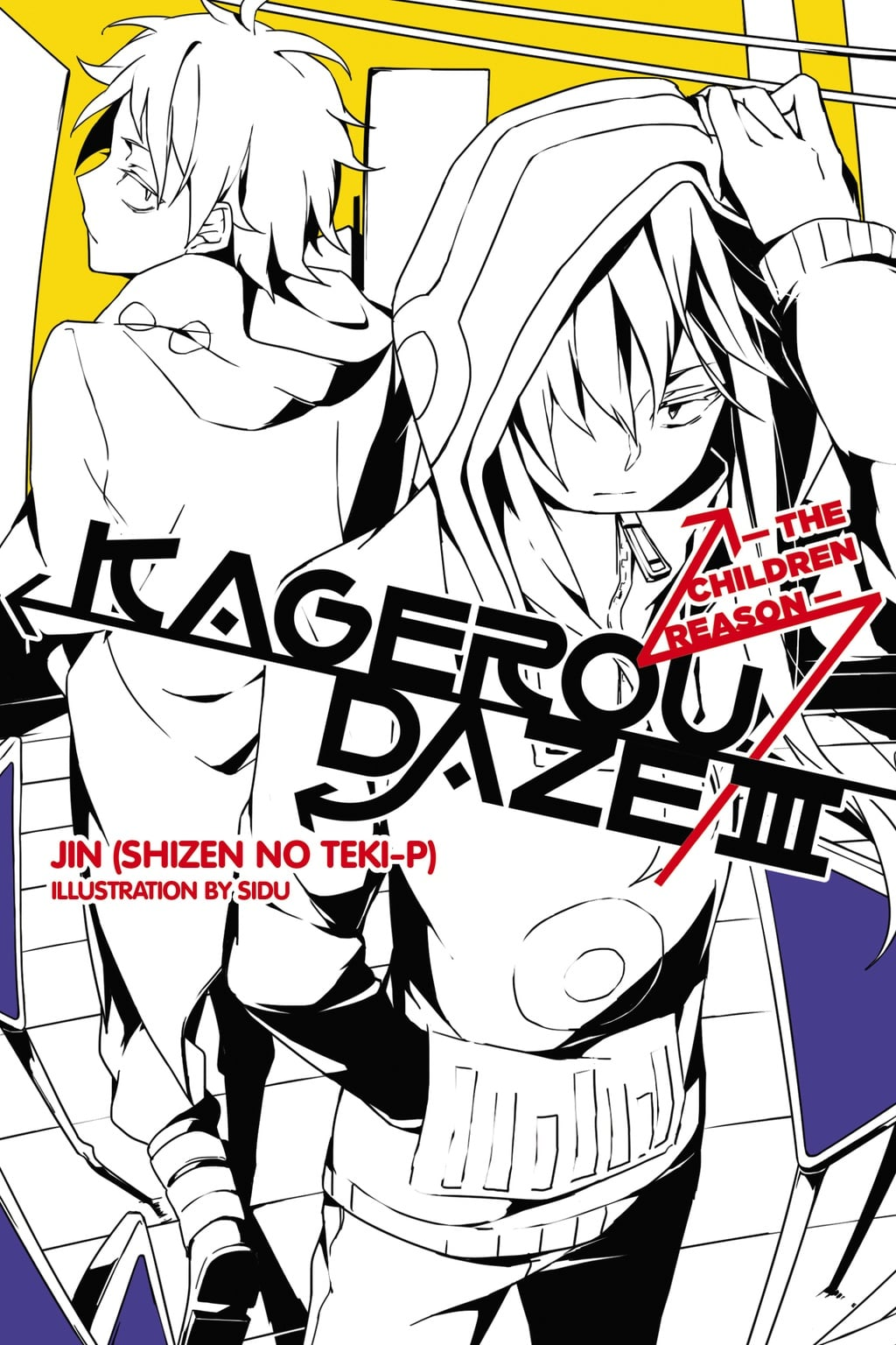 Couverture Kagerou Daze III - The children reason