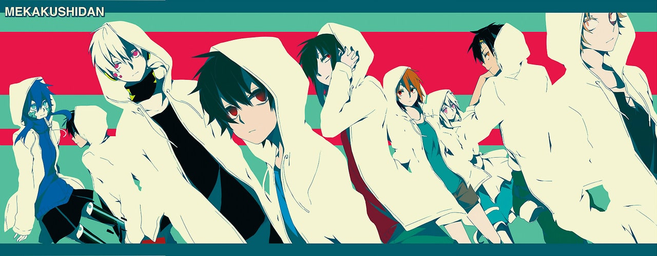 Illustration Kagerou Daze III  The children reason